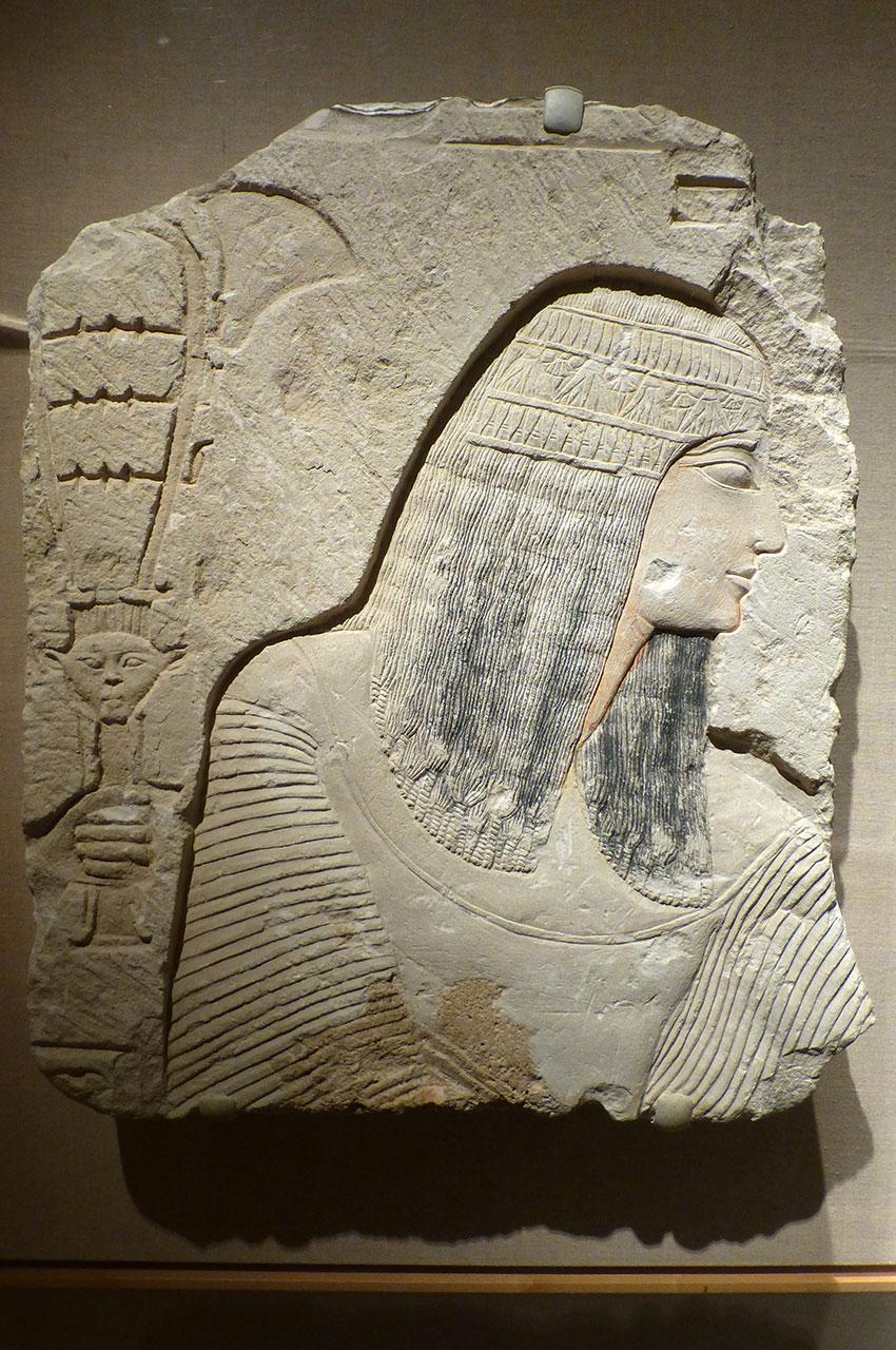Relief représentant un homme noble, XIXe dynastie