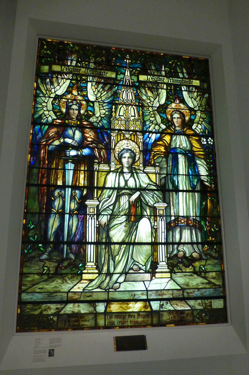 La Religion intronisée de Frederick Stymetz Lamb