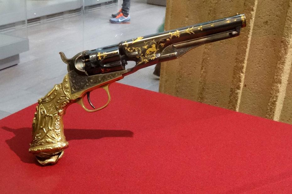 Revolver de police Colt modèle 1862