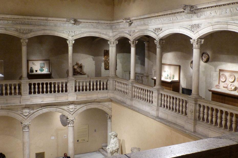 Salle au cœur du Metropolitan Museum of Art