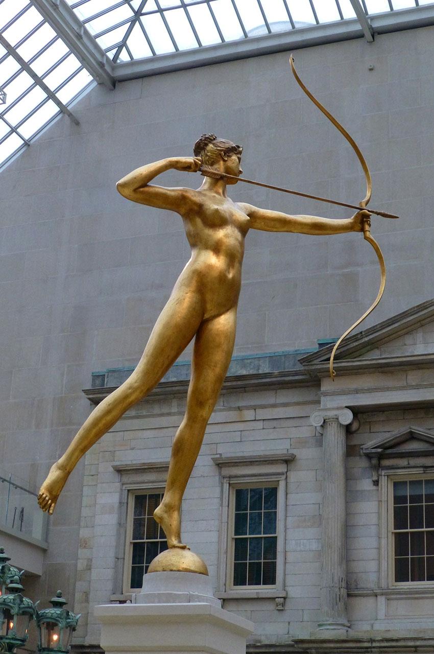 Statue de Diane, par Augustus Saint-Gaudens