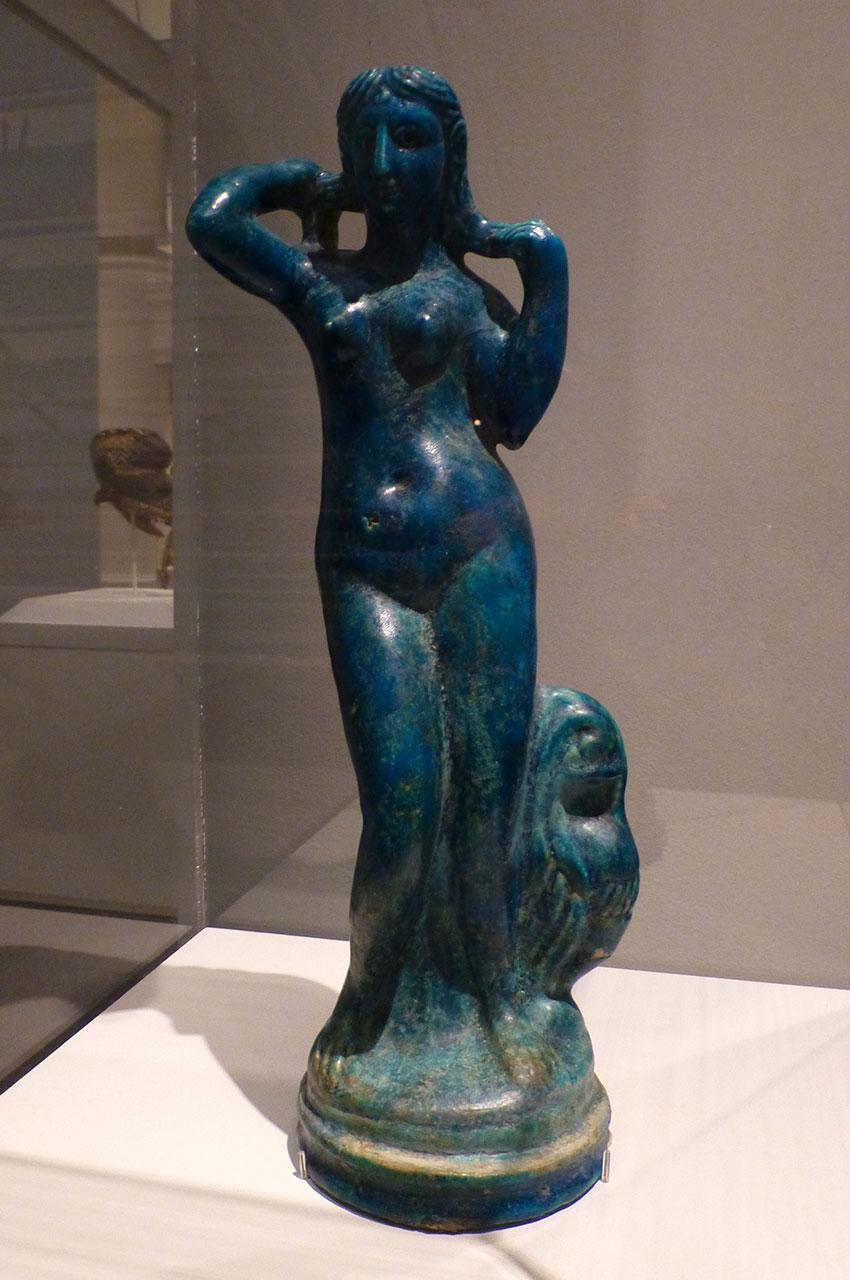 Statuette d'Aphrodite Anadyomène