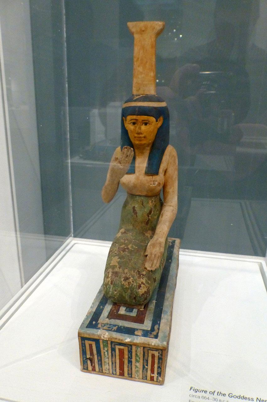 Statuette de la déesse Nephthys, période ptolémaïque