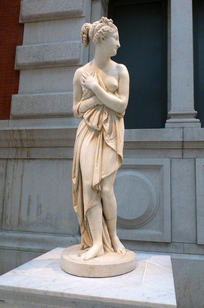 Venus italica provenant de l'atelier d'Antonio Canova