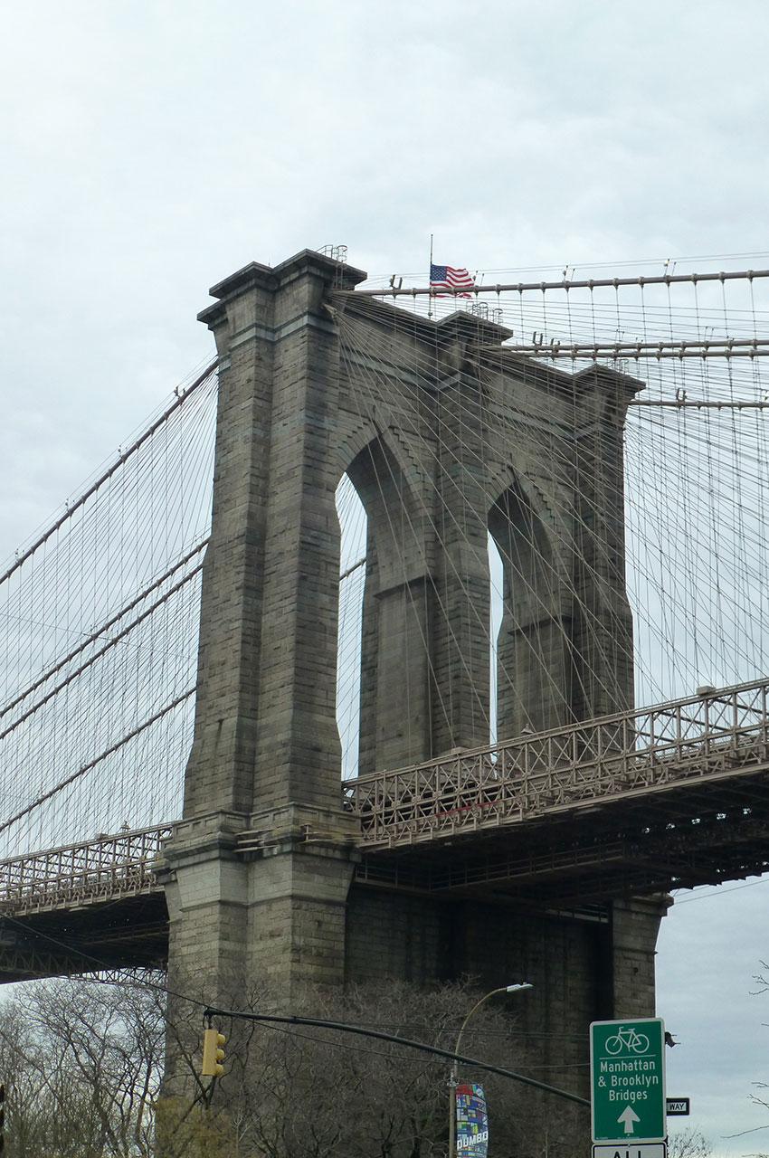 Des arches gigantesques de 90 mètres de haut