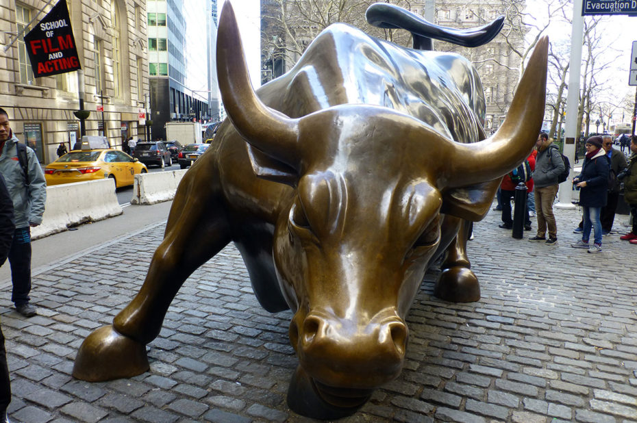 Charging Bull, le taureau de Wall Street