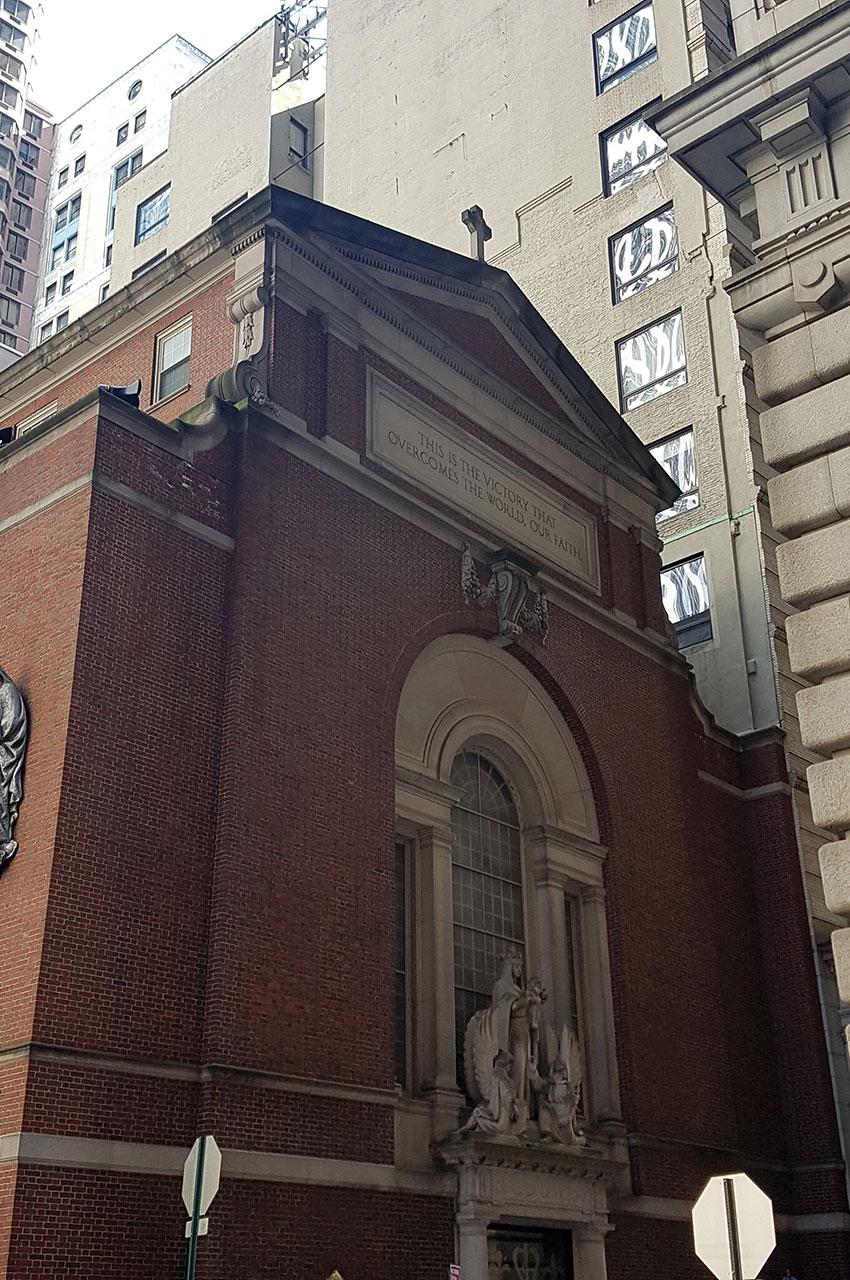 Église Notre-Dame de la Victoire à Manhattan