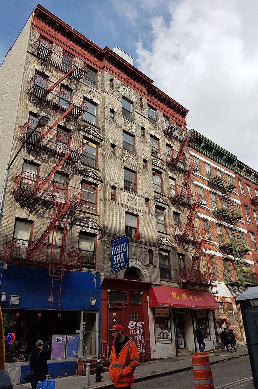 Immeuble sur Hester Street