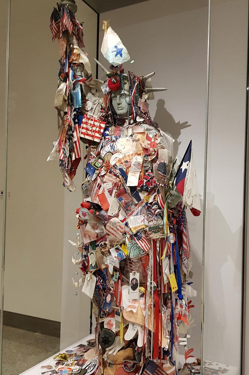 Lady Liberty, en souvenir des victimes du 11 septembre