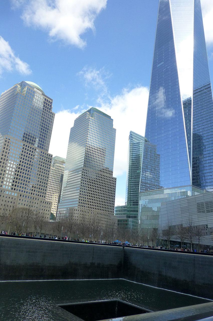 Le mémorial 9/11 au cœur du nouveau quartier de Wall Street