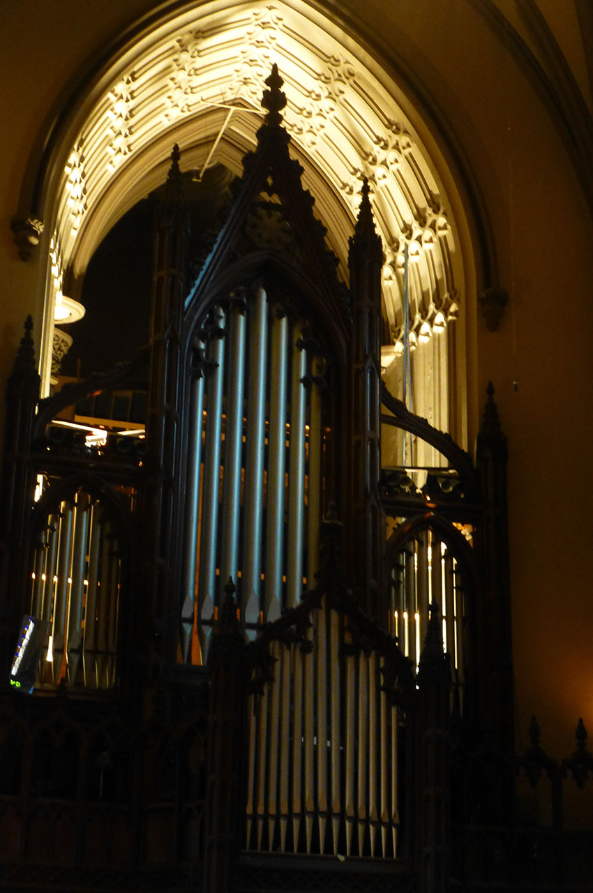 L'orgue de Trinity Church
