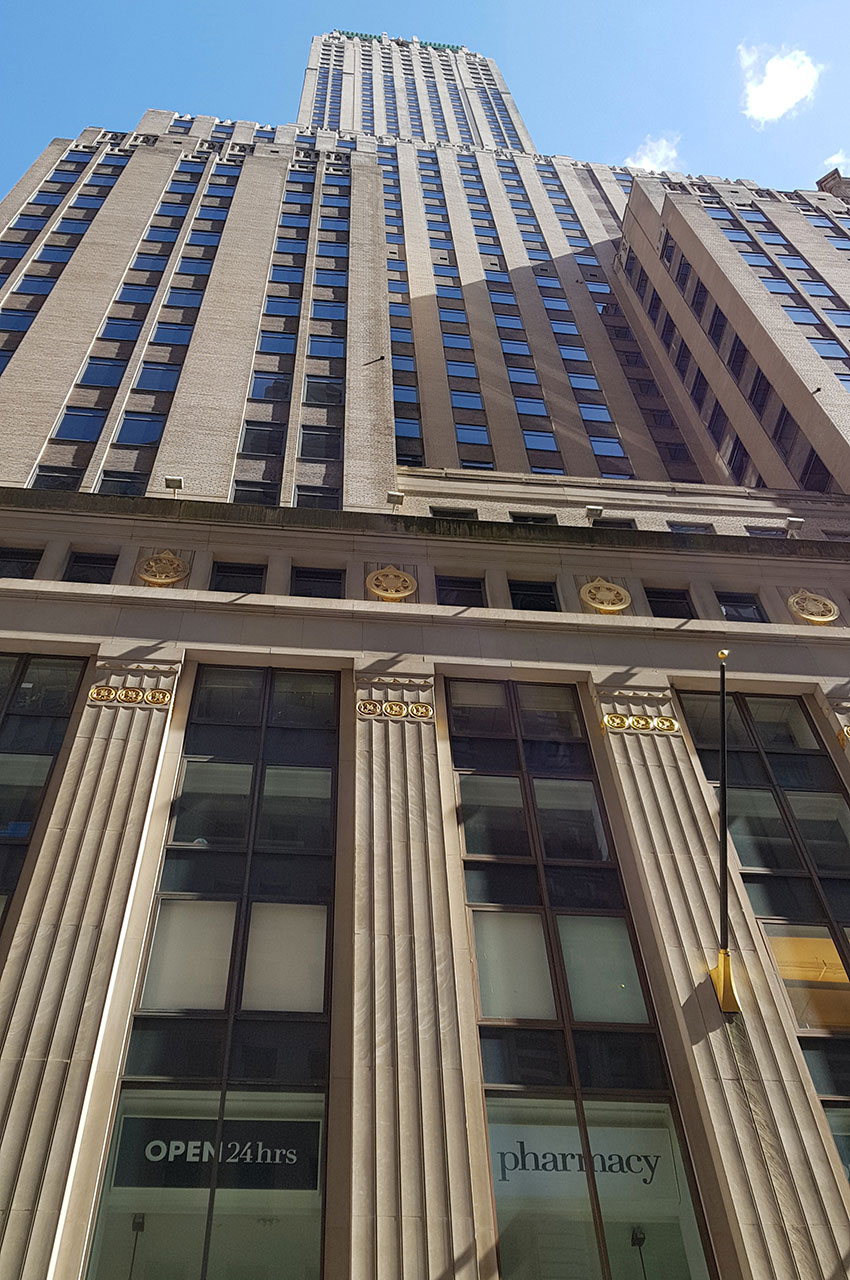 The Trump Building, situé au 40 Wall Street