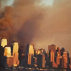 Vue de New York le 11 septembre 2001