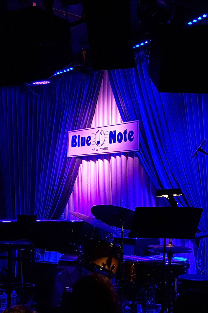 Le Blue Note, jazz-bar situé à Greenwich Village