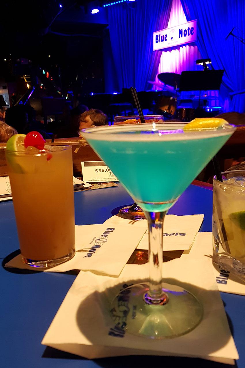 Cocktails savoureux en attendant le concert