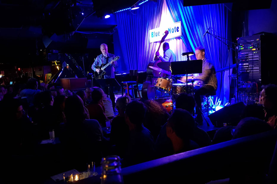 Concert de John Scofield au Blue Note