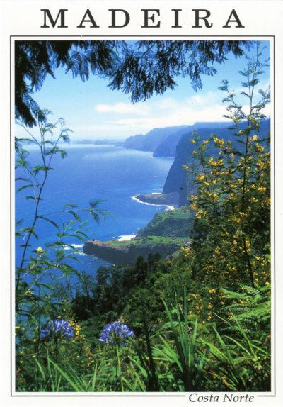 Côte Nord, vue de Faial en direction de l'est