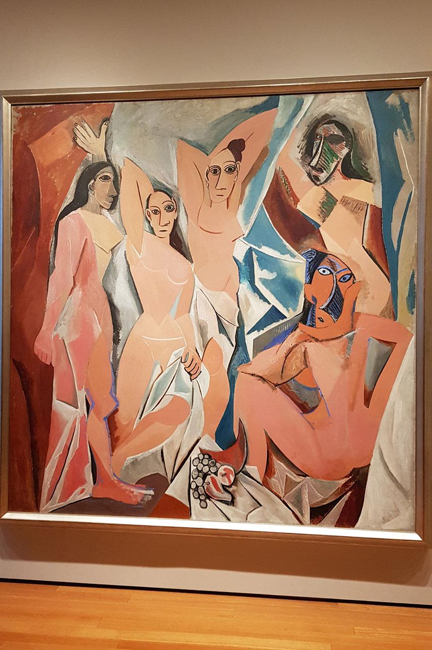 Les Demoiselles d'Avignon de Pablo Picasso