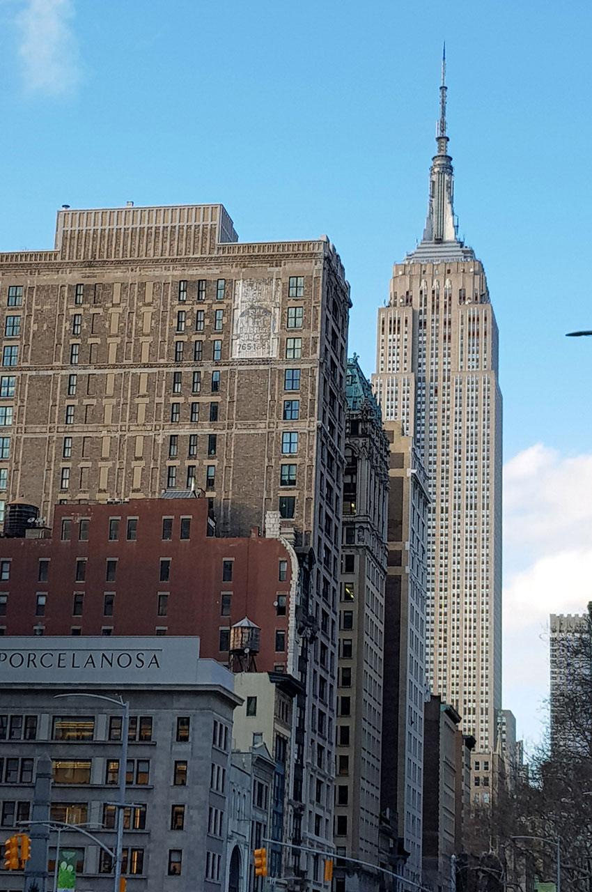 L'Empire State Building est situé sur la 5e avenue