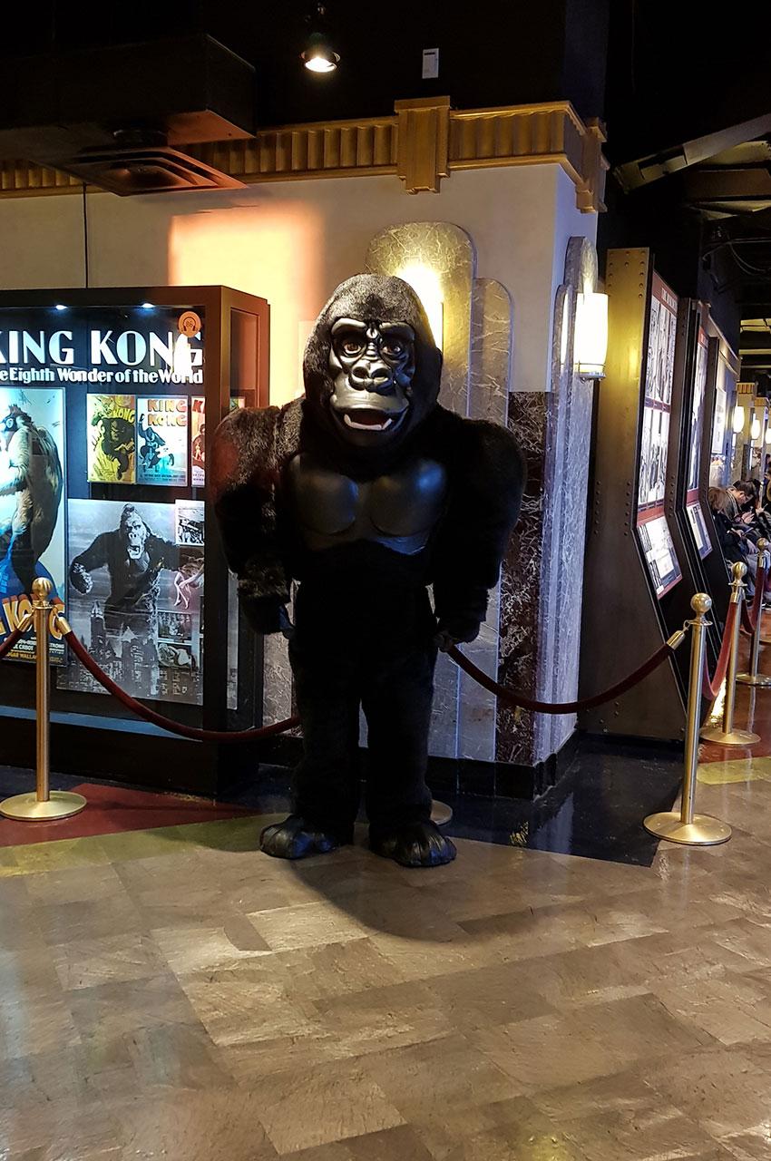 King Kong, le célèbre gorille qui a escaladé l'Empire State Building