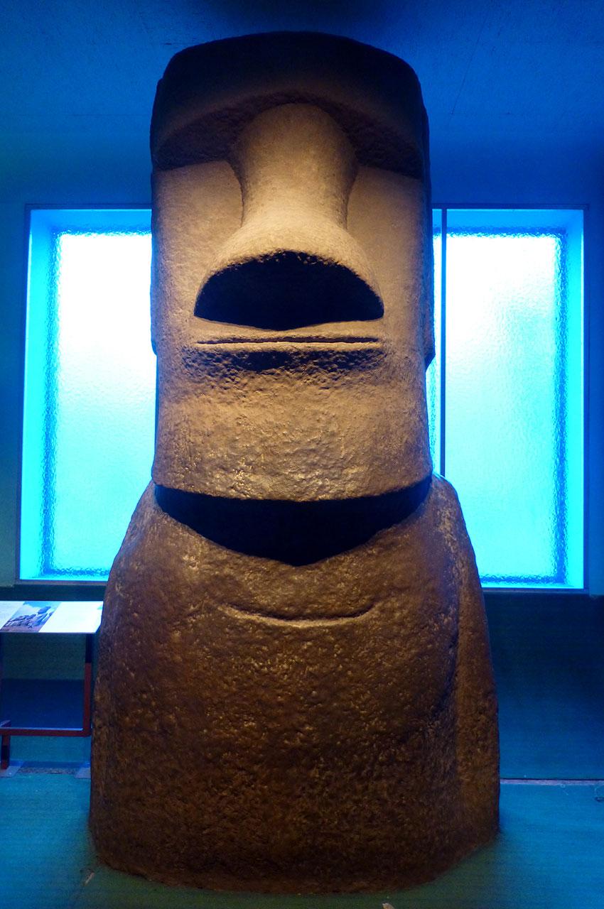 Moai Rapa Nui, en provenance de l'Île de Pâques