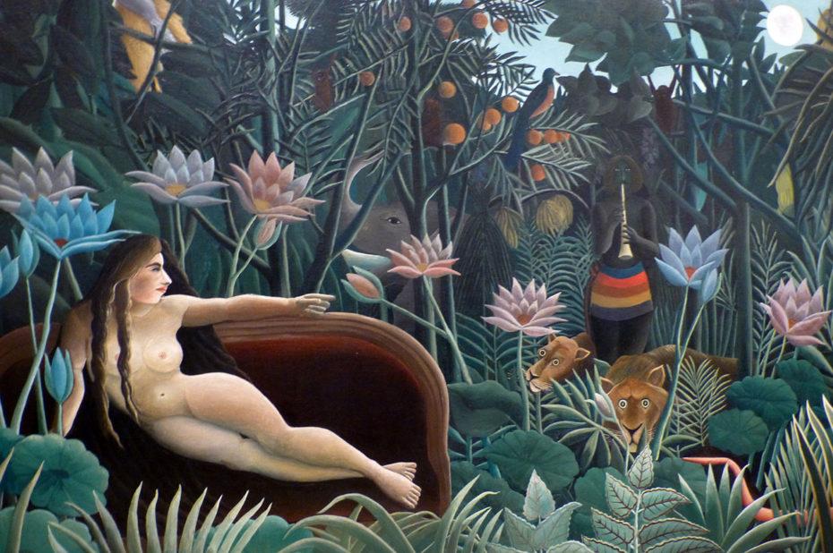 """Peinture """"Le rêve"""" de Henri Rousseau"""
