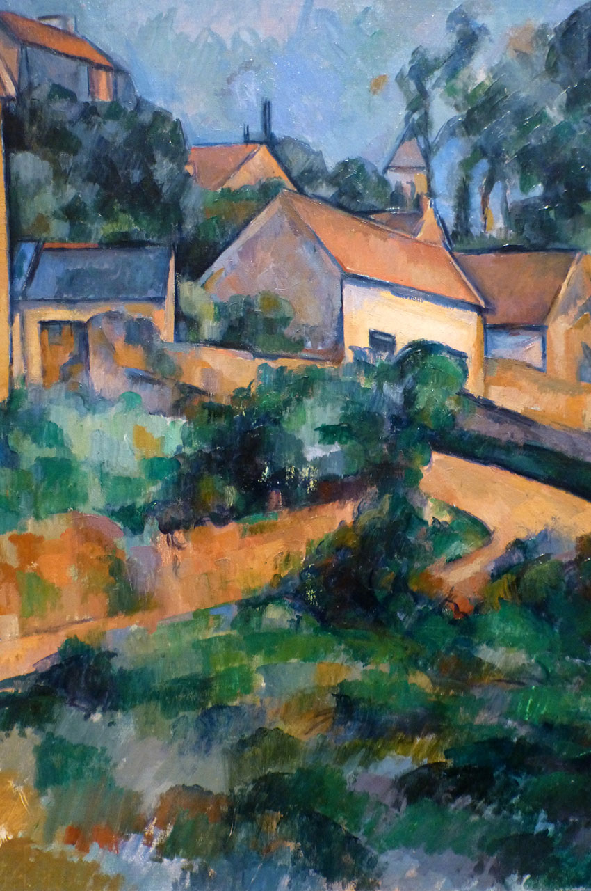 La Route tournante à Montgeroult de Paul Cézanne