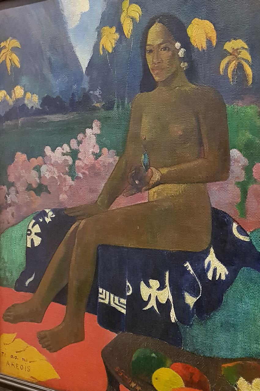 La Semence de l'Areoi de Paul Gauguin