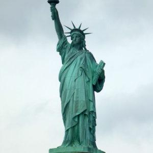 La statue de la Liberté a une infrastructure de fer et de cuivre