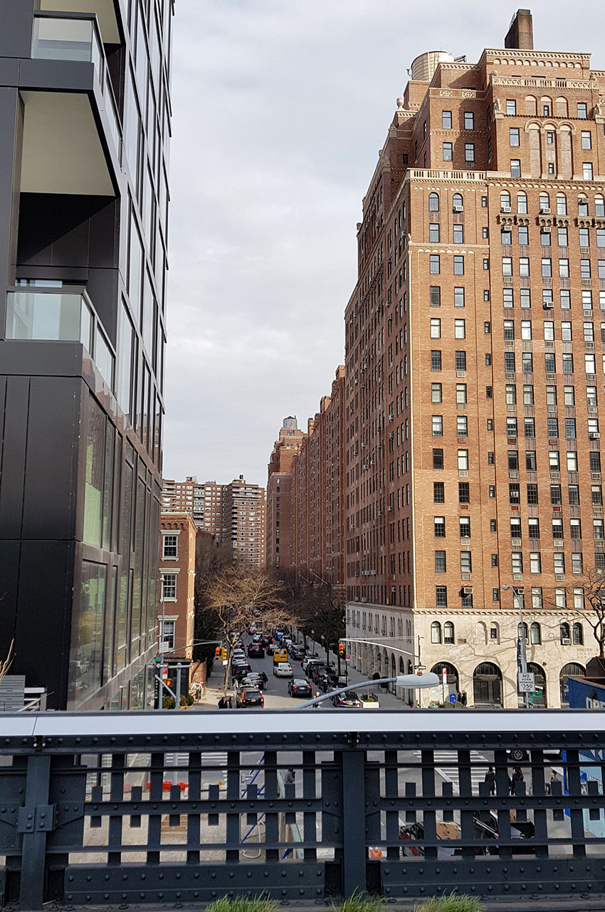 Vue sur la 24e rue de New York