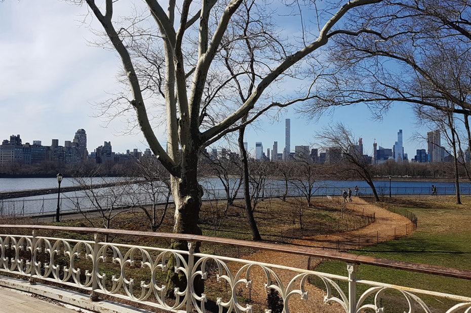 Balade à Central Park sous le soleil d'avril