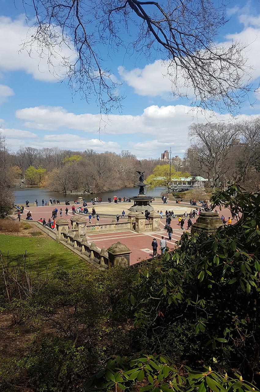 Bethesda Terrace, célèbre place de Central Park