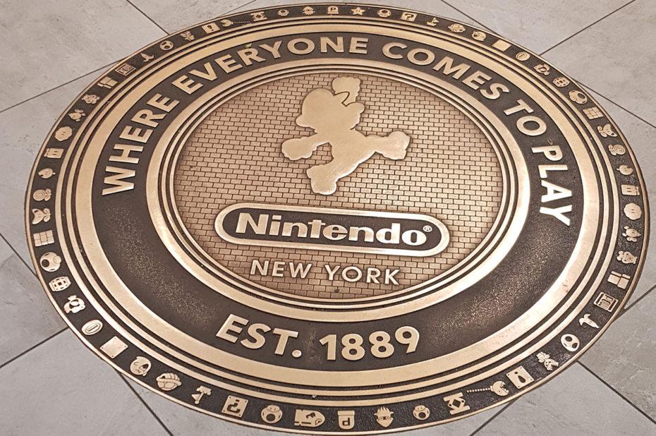 Bienvenue au Nintendo Store de New York
