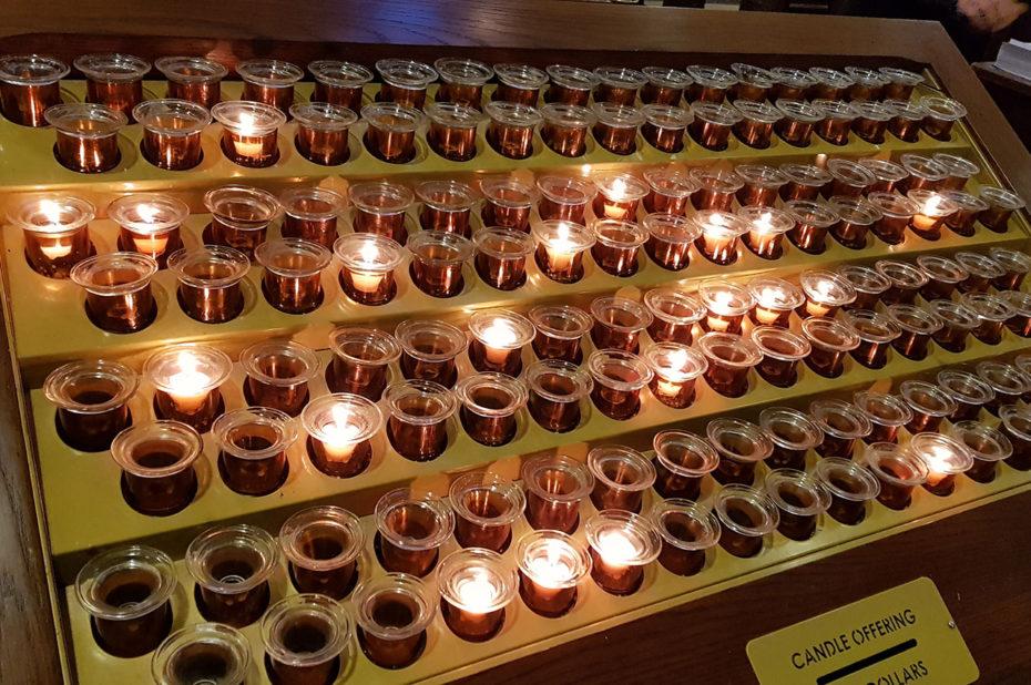 Bougies, offrande pour les prières