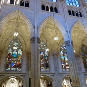La cathédrale Saint-Patrick est de style néo-gothique