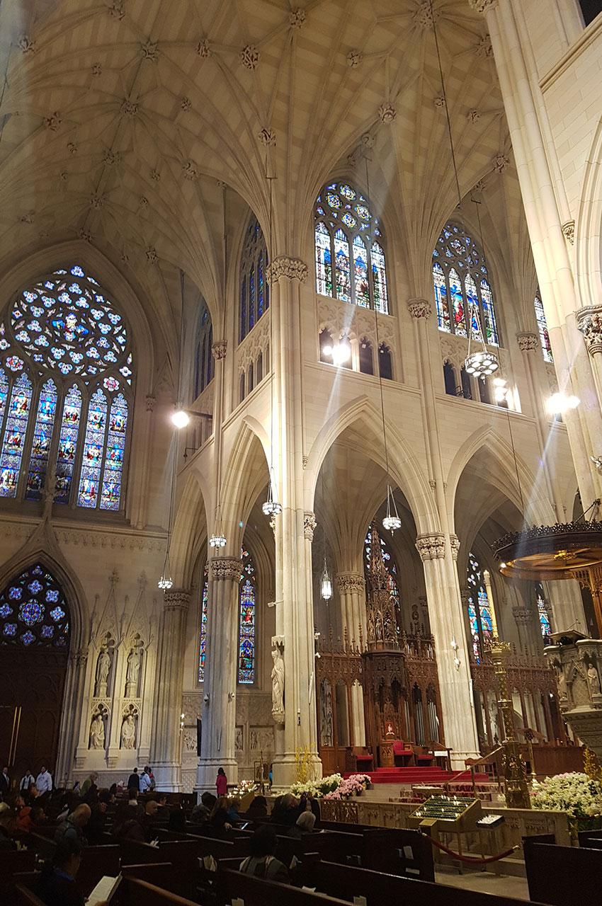 Le chœur de la cathédrale