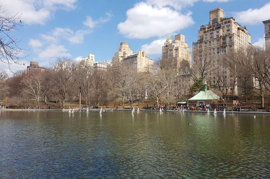 Conservatory Water, près de la 5e avenue