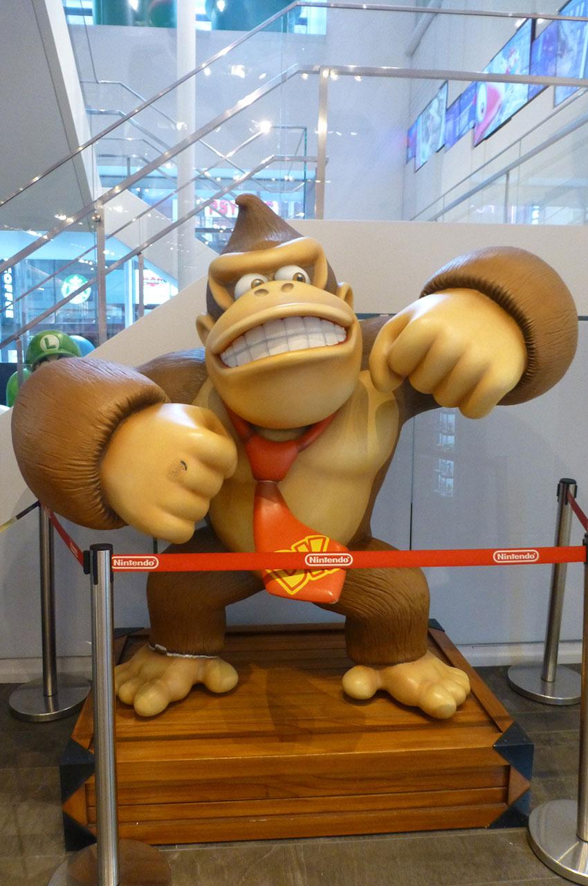 Donkey Kong, personnage issu du jeu du même nom créé en 1981