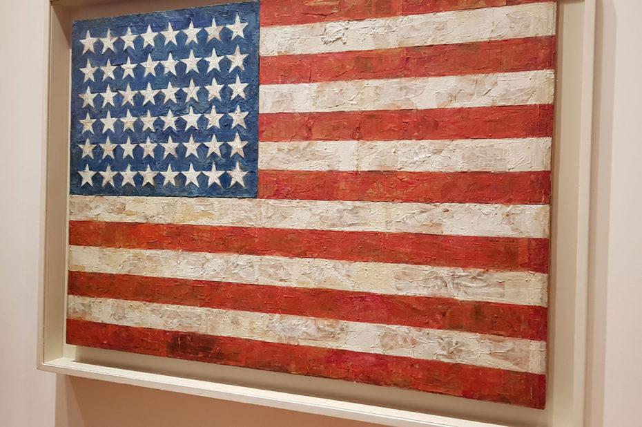Drapeau américain de Jasper Johns