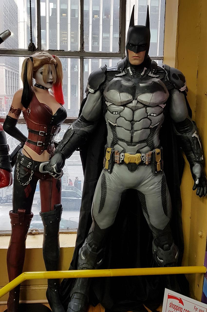 Figurine de Batman en taille réelle