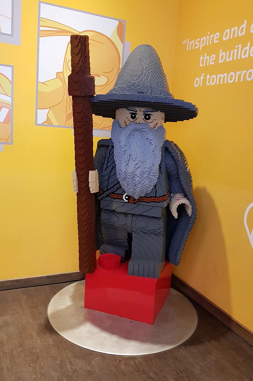 Gandalf du Seigneur des Anneaux en Lego