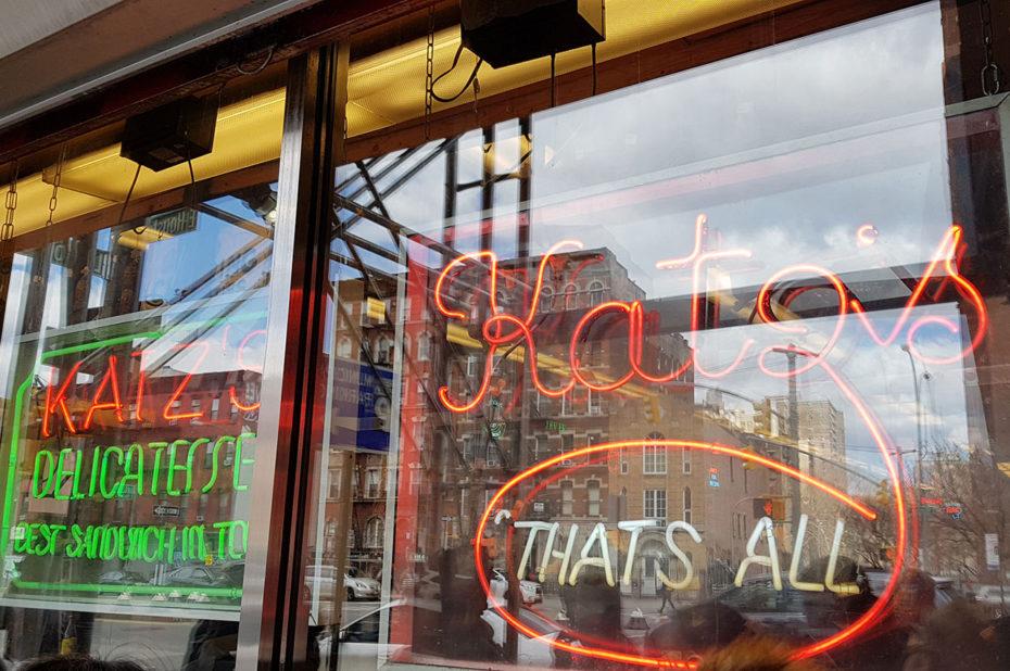 Katz's Delicatessen, restaurant du Lower East Side