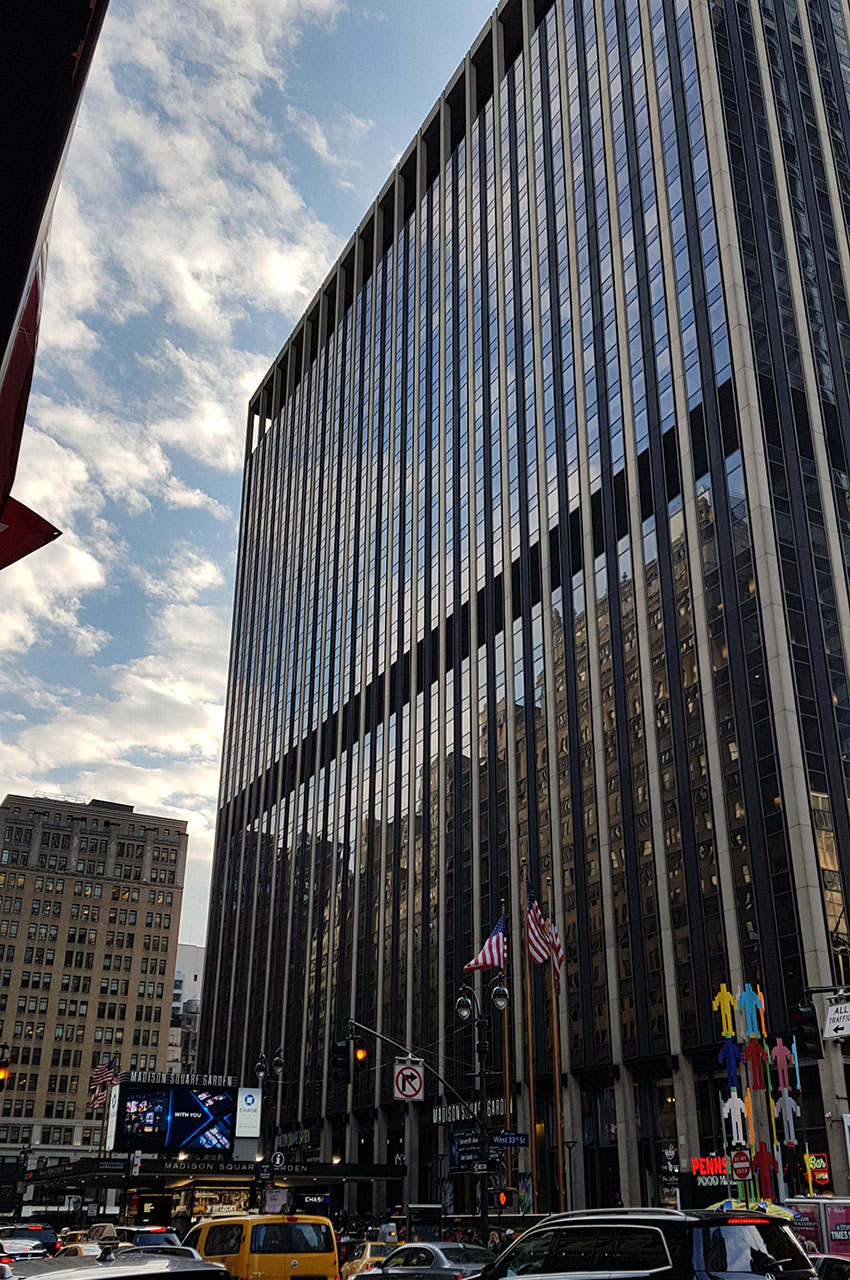 Madison Square Garden peut accueillir plus de 20000 personnes