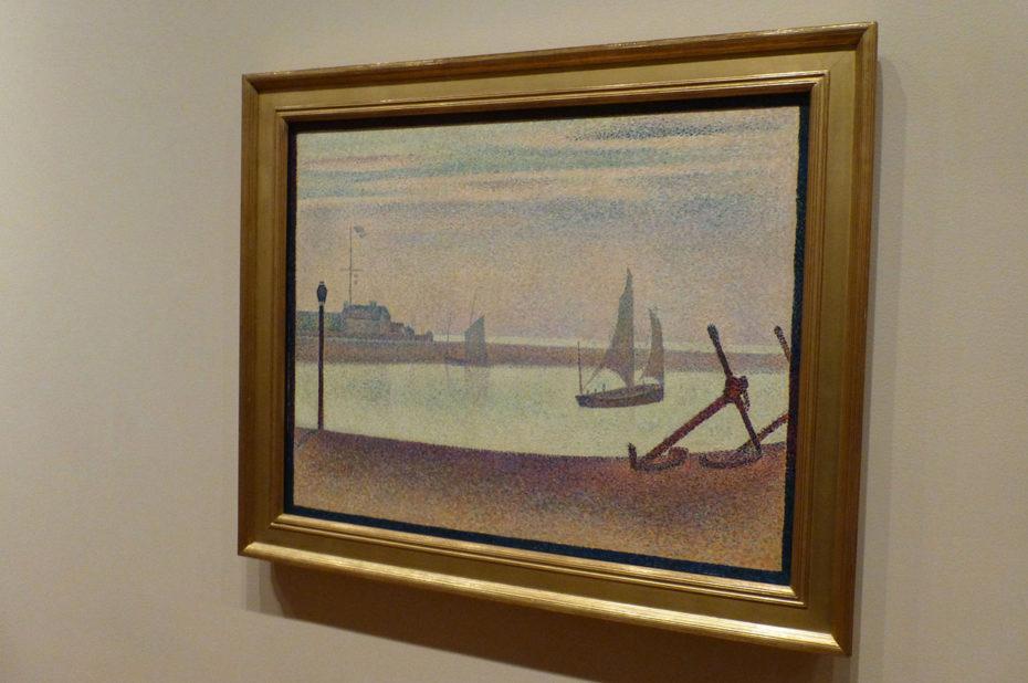 La Manche à Gravelines, le soir de Georges Seurat