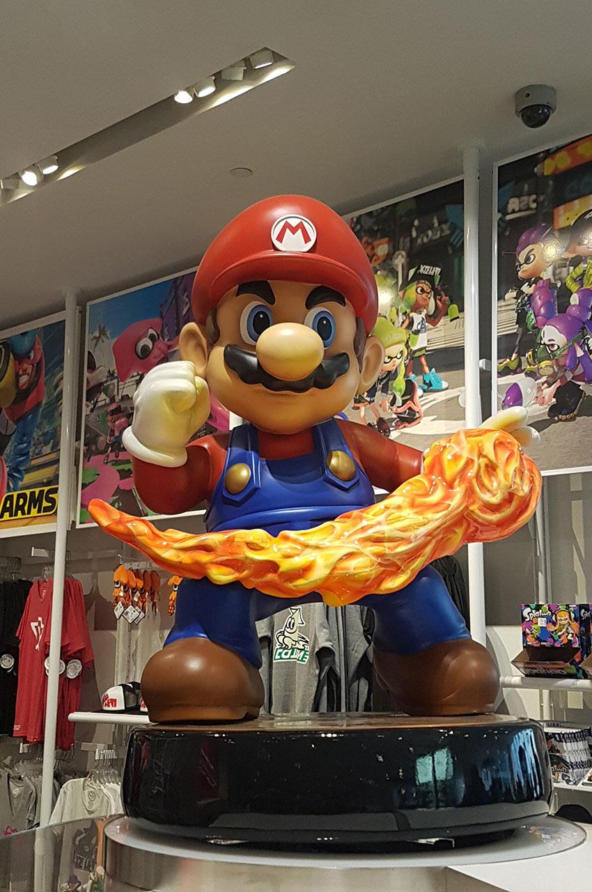 Mario, le célèbre petit plombier de la firme Nintendo