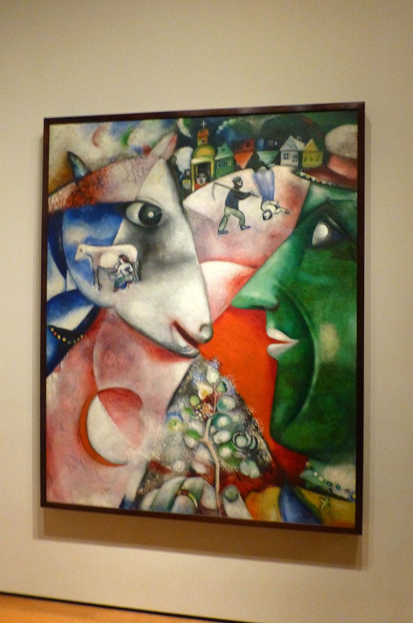 Moi et le village de Marc Chagall