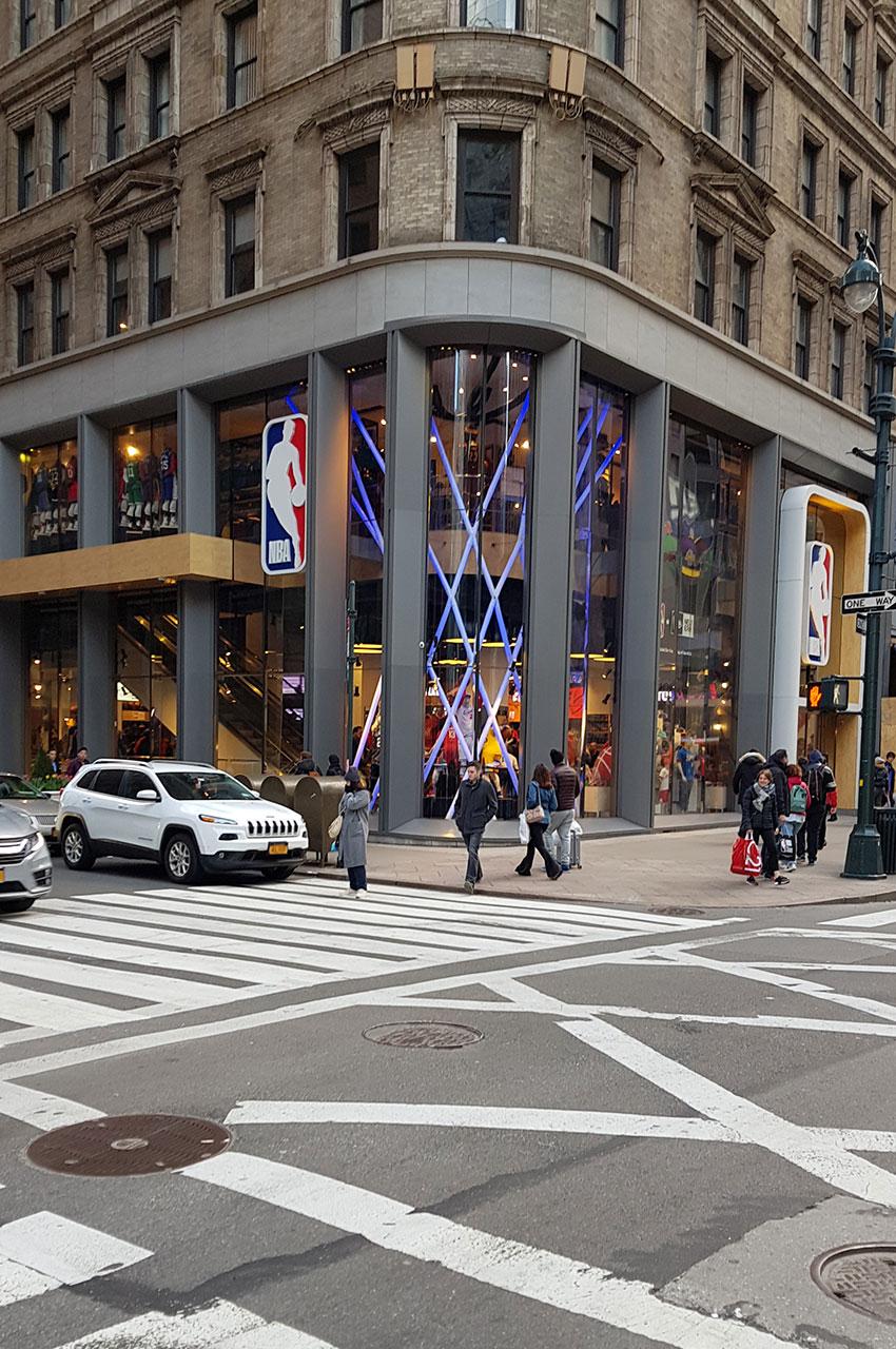 NBA Store sur le 5e avenue