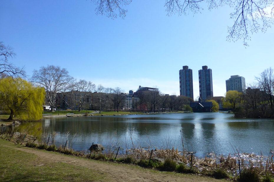 Au nord de Central Park, proche du quartier de Harlem