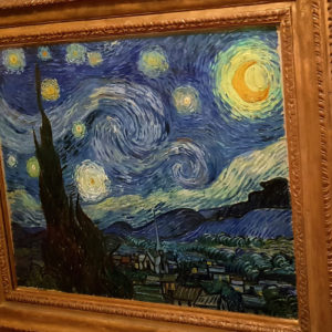 Peinture La nuit étoilée de Vincent Van Gogh