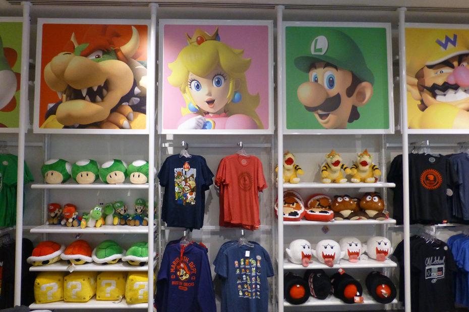 Dans les rayons du Nintendo Store